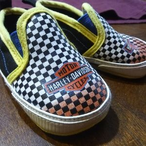 Harley Davidson slip on shoes